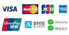 クレジットカードでお支払いができます。